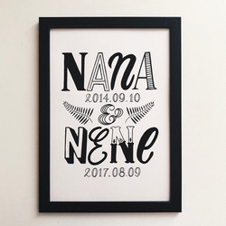 Name Poster