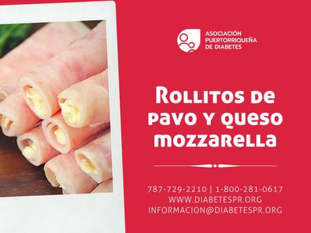 Rollitos de Pavo y Queso Mozzarella