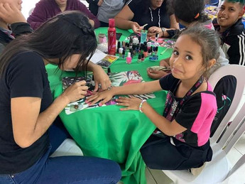Boys and girls have fun at the Boys and Girls Club of Puerto Rico's 13 club houses.