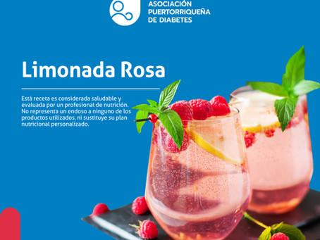 Receta: Limonada Rosa