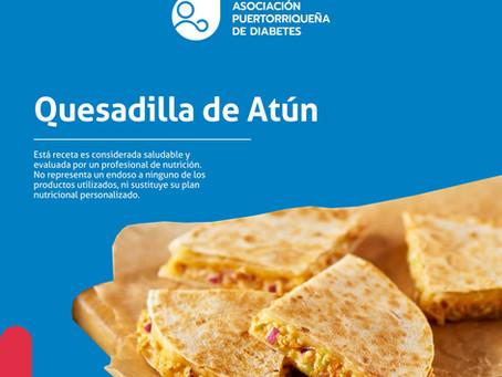 Receta: Quesadilla de Atún