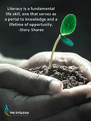 Literacy is a fundamental life skill - Poster.png