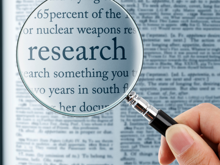 Research v Evidence, What does it all really mean?