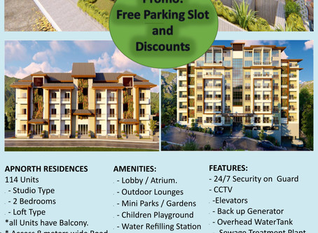 Apnorth Residences, PRESELLING Condominium in Baguio City. ARE YOU LOOKING FOR:INVESTMENT?