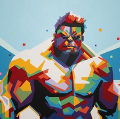 SOLD - Hulk Smash