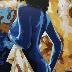SOLD - Blue Lady III - $500