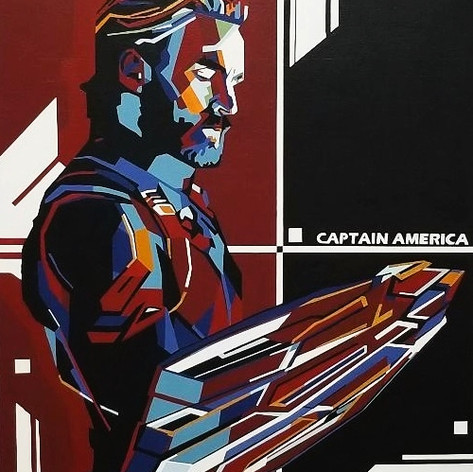 SOLD - Captain America