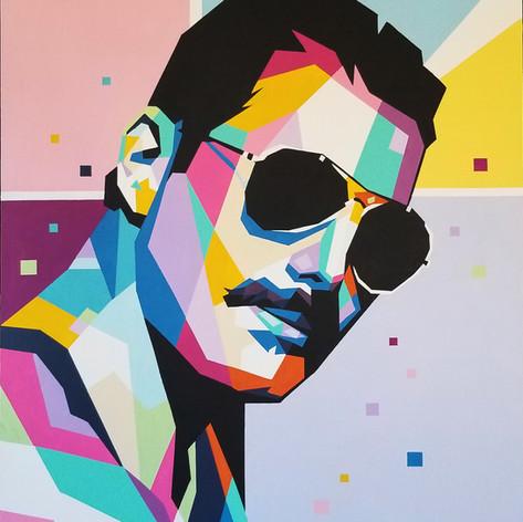 Freddie Print - $65