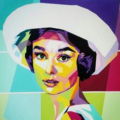 SOLD - Audrey Hepburn