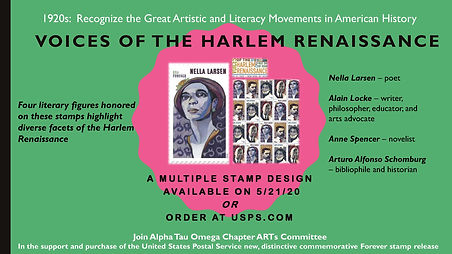 Voices of the Harlem Renaissance Stamp.F