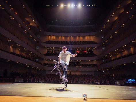 Chris Böhm ist BMX Guinness Weltrekordhalter