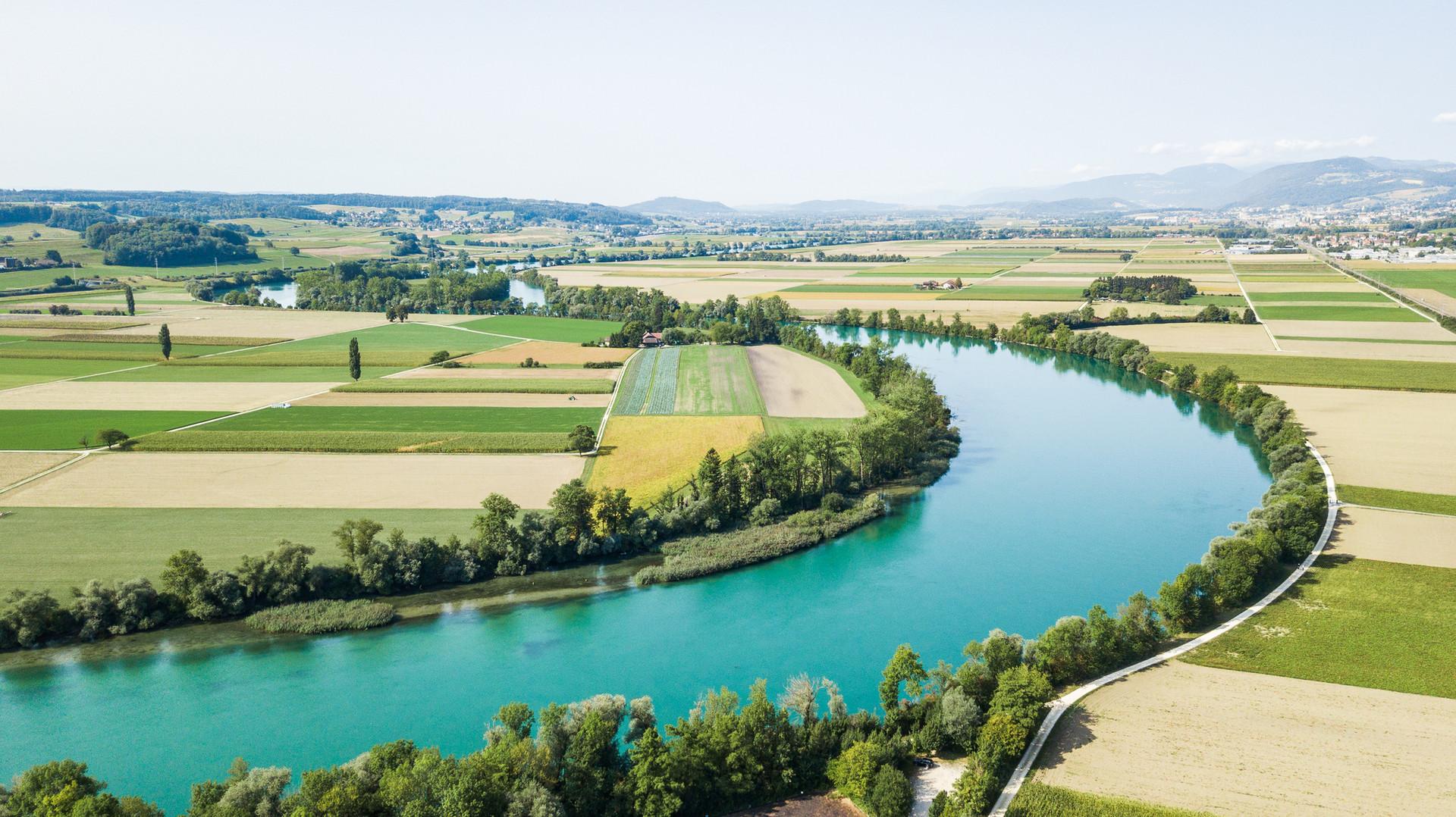Studio DZ Dario Zimmerli Fotograf Sursee Luzern Drohne Fluss