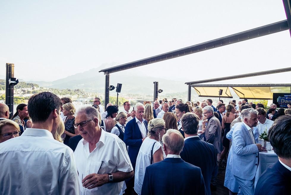 Event Gäste Terasse Fotograf Sursee