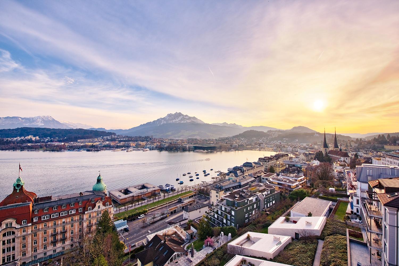 Studio DZ Dario Zimmerli Fotograf Sursee Luzern Drohne Hotel Montana