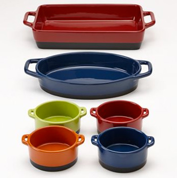6-pc Bakeware Set