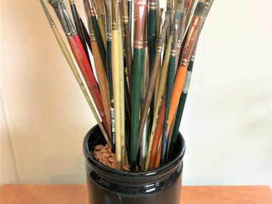 WHAT IS THE SAFEST WAY TO CLEAN OIL PAINT BRUSHES?