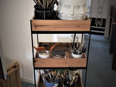 WHAT IS THE BEST SMALL CART FOR ART?