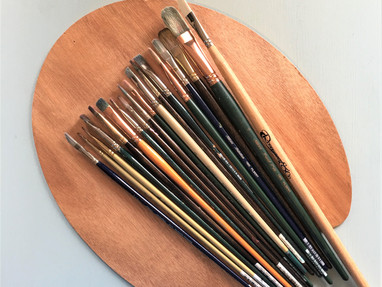 WHAT ARE MY FAVORITE OIL PAINTING BRUSHES?