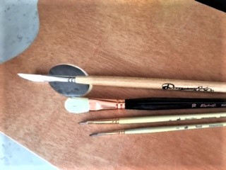 MY FAVORITE OIL PAINTING BRUSHES