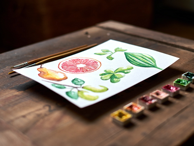 WHAT MATERIALS ARE NEEDED TO TEACH WATERCOLOR ON A BUDGET?