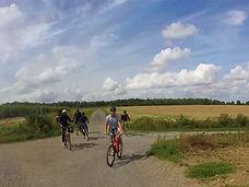 Camp vélo itinérant en Wallonie, été 201