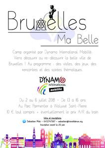 Bruxelles Ma belle du 2 au 6 juillet 2018