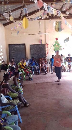 Maïlèn partie au Bénin, Tremplin Job ave