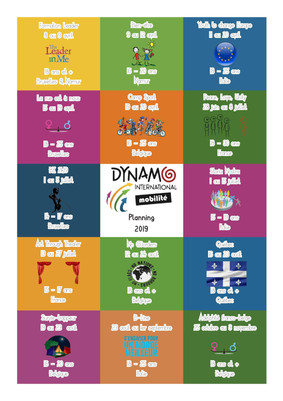 Les projets de Dynamo International en 2019