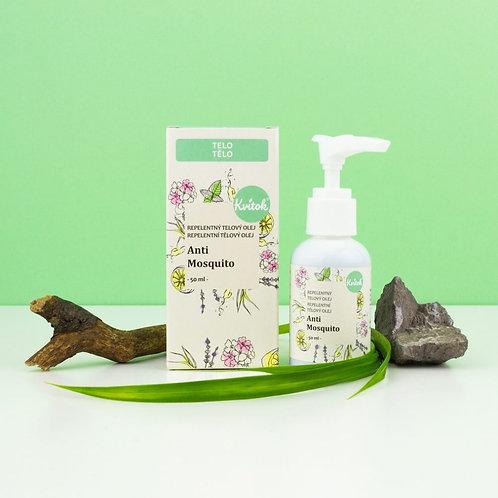 Repelentní tělový olej - Anti Mosquito