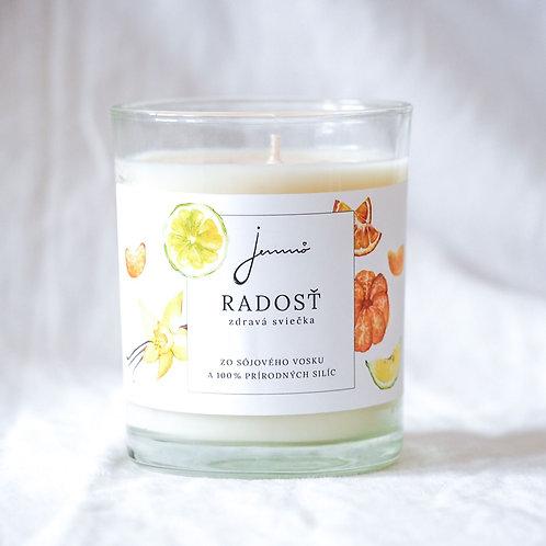 JEMNÔ - sojová svíčka Radost