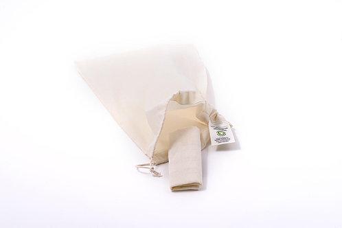 Plátěný sáček z biobavlny malý
