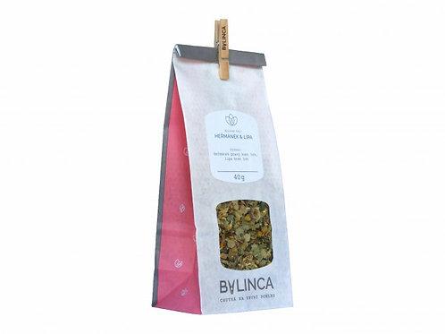 Bylinný čaj Heřmánek & Lípa