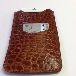Customised wallet and phone holder
