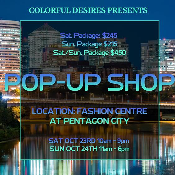 Fashion Centre at Pentagon City Pop-Up Shop