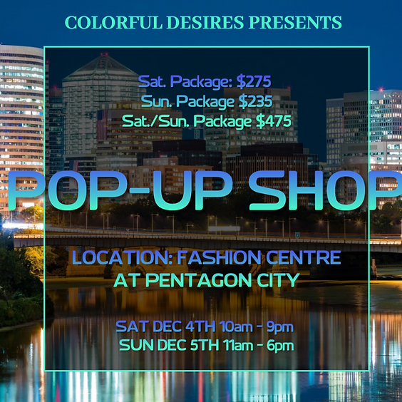 Fashion Centre at Pentagon City Holiday Pop-Up Shop