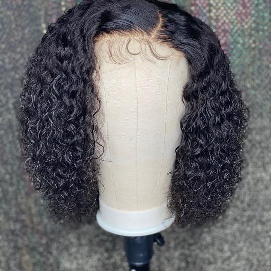 Raw Curly Bob