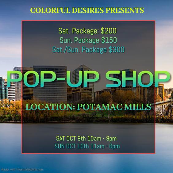 Potomac Mills Pop-Up Shop