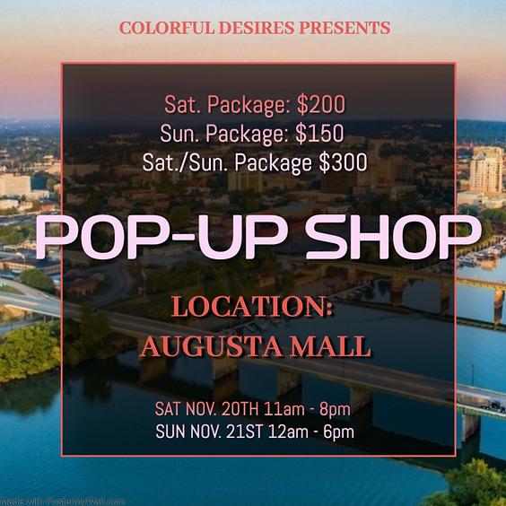 Augusta Mall Pop-Up Shop