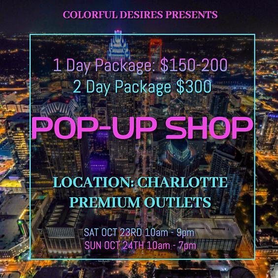 Charlotte Premium Outlets Pop-Up Shop