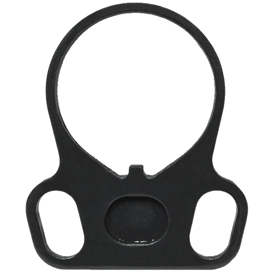Ambidextrous Sling Receiver Plate - Black