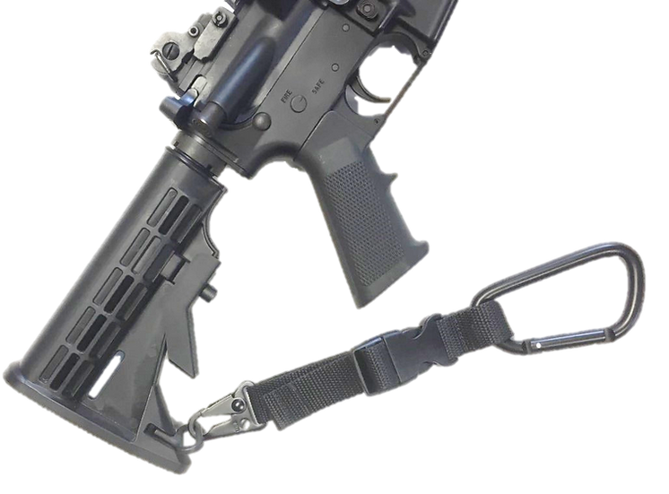 """Slingmaster Tactical """"Weapon Attachment System - Personal"""" Black"""