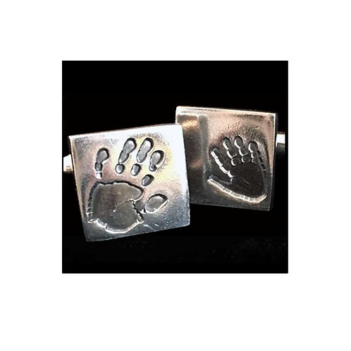 Hand Footprint Cufflinks