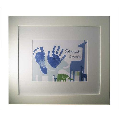 "Safari Medium Nursery Print 10 x 12"""