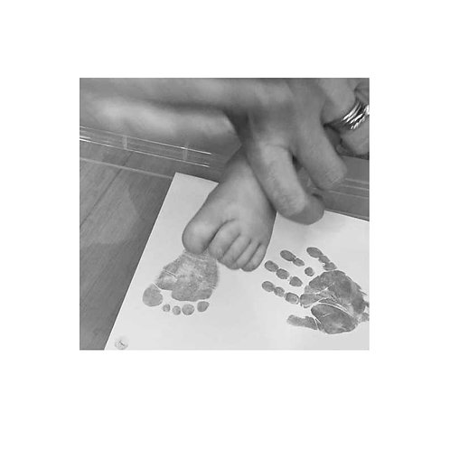Hand and foot printing kit Tinytoes and Stickyfingers