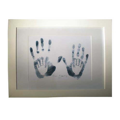 "Large Family Nursery Print 16 x 12"""