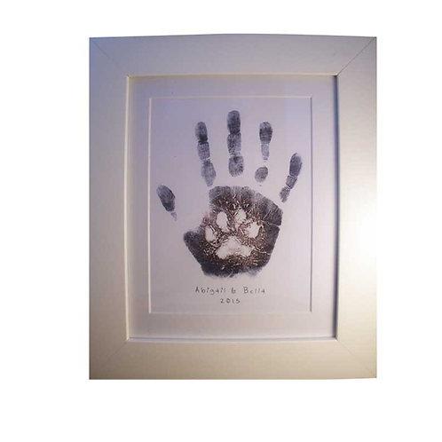 "'Puppy & Me' Small Nursery Print 10 x 8"""
