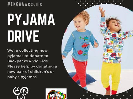 EKGA's Pyjama Drive is back