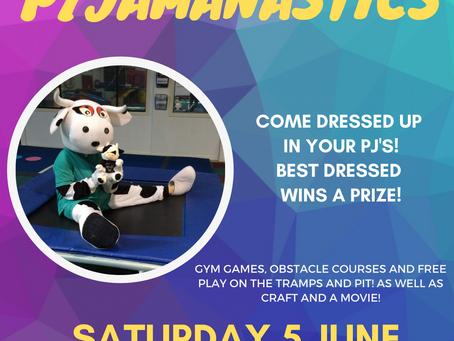 Pyjamanastics is back!