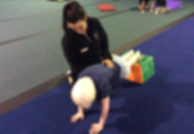 Blindsport gymnastics