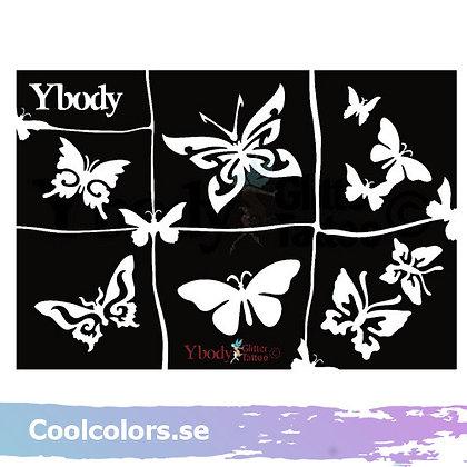 Ybody butterflies fjärilar